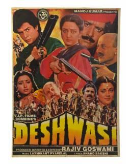 Antik plakát Bollywood, 98x75cm