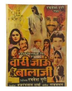 Bollywood plakát, cca 98x75cm