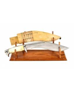 """Khukri nůž, """"American Eagle"""",  10"""", kostěná rukojeť, nůž 40cm, čepel 26cm"""