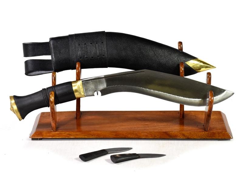 """Khukri - Jungle, 10,5"""", rohovinová rukojeť, nůž 39cm, čepel 26cm"""