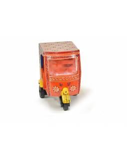 Rikša, oranžová, 20x11x17cm