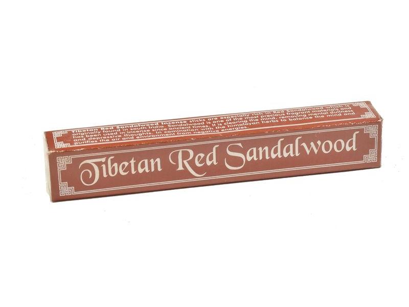 Tibetské tyčinky, Tibetan Red Sandalwood, 14cm