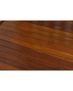 Židle z palisandrového dřeva, medová, 46x46x107cm