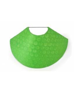 Stínidlo na zeď z ručního papíru, zelená, 37x11cm