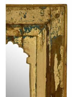 Zrcadlo v rámu z recyklovaného teakového dřeva, 43x67x4cm