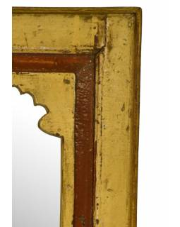 Zrcadlo v rámu z recyklovaného teakového dřeva, 39x69x4cm