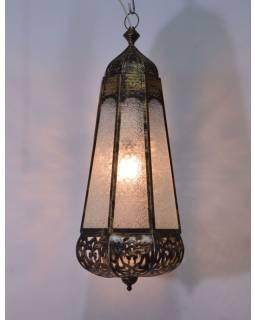 Arabská lampa, multibarevná, mosaz, ruční práce, cca 89x30cm
