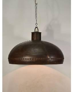 Železné stínidlo, plátované, ruční práce, 70x70x53cm