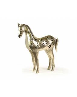 Soška koně, svícen, ruční práce, 30x37cm