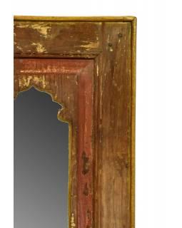 Zrcadlo v rámu z recyklovaného teakového dřeva, 38x78x4cm