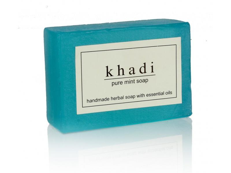 Ručně vyráběné mýdlo s esenciálními oleji, Mint, 125g