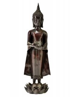 Narozeninový Buddha, středa, pryskyřice, hnědý,  50cm