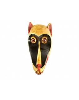 """Zvířecí maska, """"Král Jelimán"""", 14x29cm"""