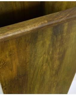 Květník z palisandrového dřeva, 27x27x36cm