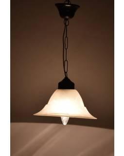 Skleněná lampa , 23x13cm